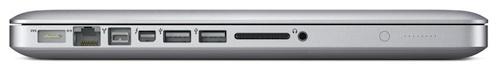 MacBook Pro 13 inch ports