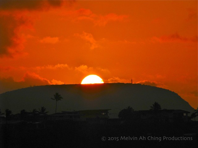 Sunrise From Hawaii