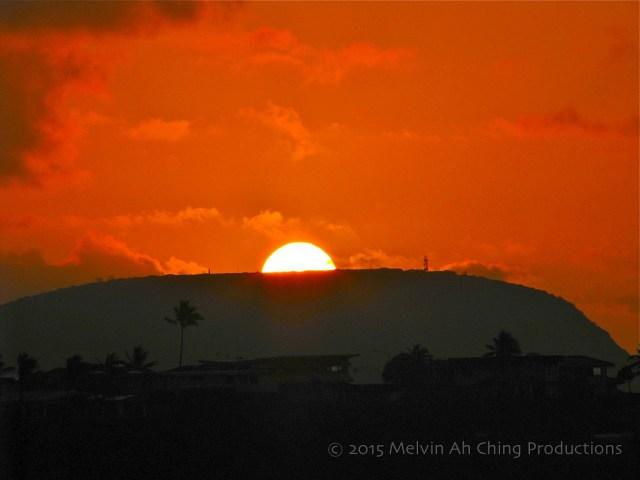 Sunrise From Hawaii