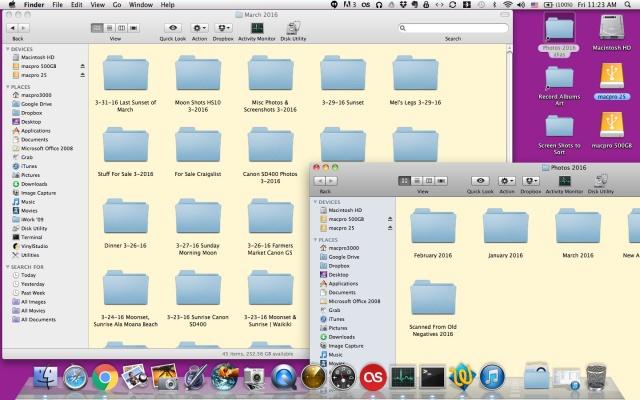 Mac OSX folders